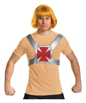 Mens He Man Costume Kit