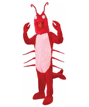 Food costumes food candy and drink halloween outfits mens red lobster mascot costume solutioingenieria Gallery