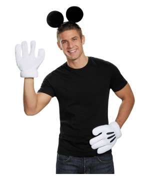 Mickey Mouse Ears Glove Set