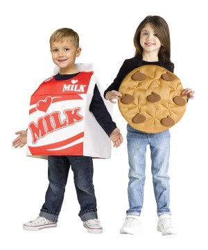 Milk and Cookies Toddler Costume Set