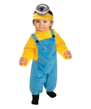 Despicable Me Minion Stuart Toddler Costume Movie Costumes