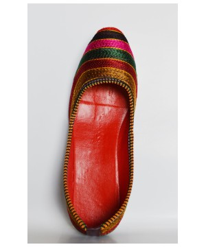Pattern Hand Crafted Indian Shoes