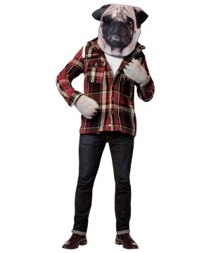 Photo Print Mask Costume