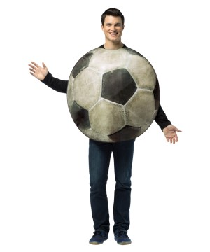 Real Soccer Ball Costume