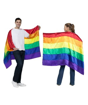 True Colors Pride Flag Cape