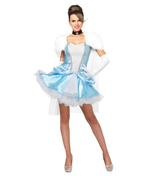 Late for the Ball Womens Cinderella Costume
