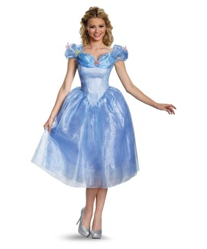 Womens Disney Cinderella Movie Costume