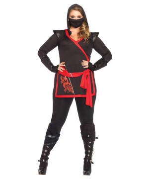 Womens Dragon Ninja plus size Costume