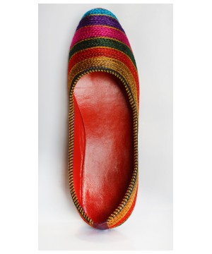 Womens Indian Artisan Handmade Flats