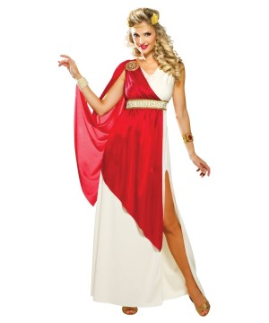 Lady Caesar Roman Womens Costume  sc 1 st  Halloween Costumes & Roman Costumes - Girls Boys Men u0026 Women Classic Roman Dress