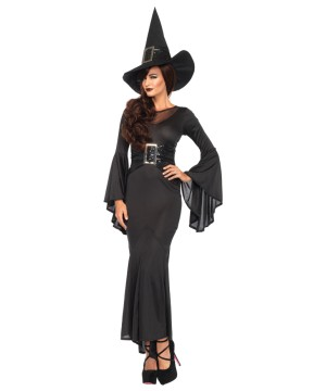 Womens Pitch Black Witchcraft Costume