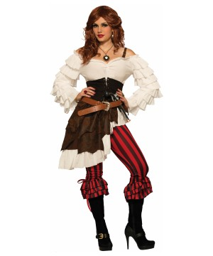 Womens Renegade Ruby Pirate Costume