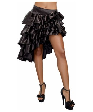 Womens Ruffled Hilow Skirt