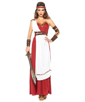 Womens Spartan War Goddess Costume