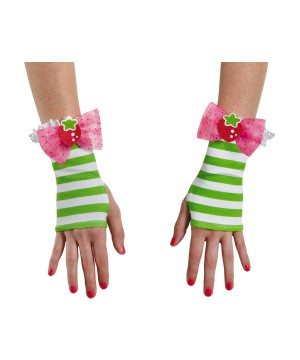 Womens Strawberry Shortcake Gloves