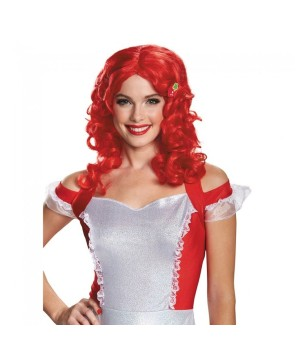 Womens Strawberry Shortcake Wig