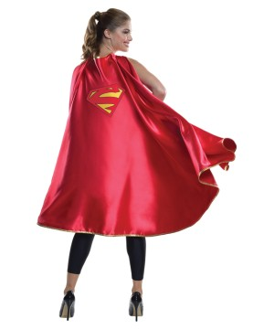 Womens Supergirl Costume Cape