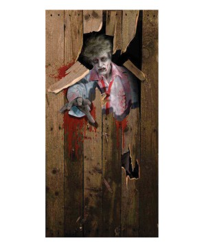Zombie Door cover Halloween Decoration