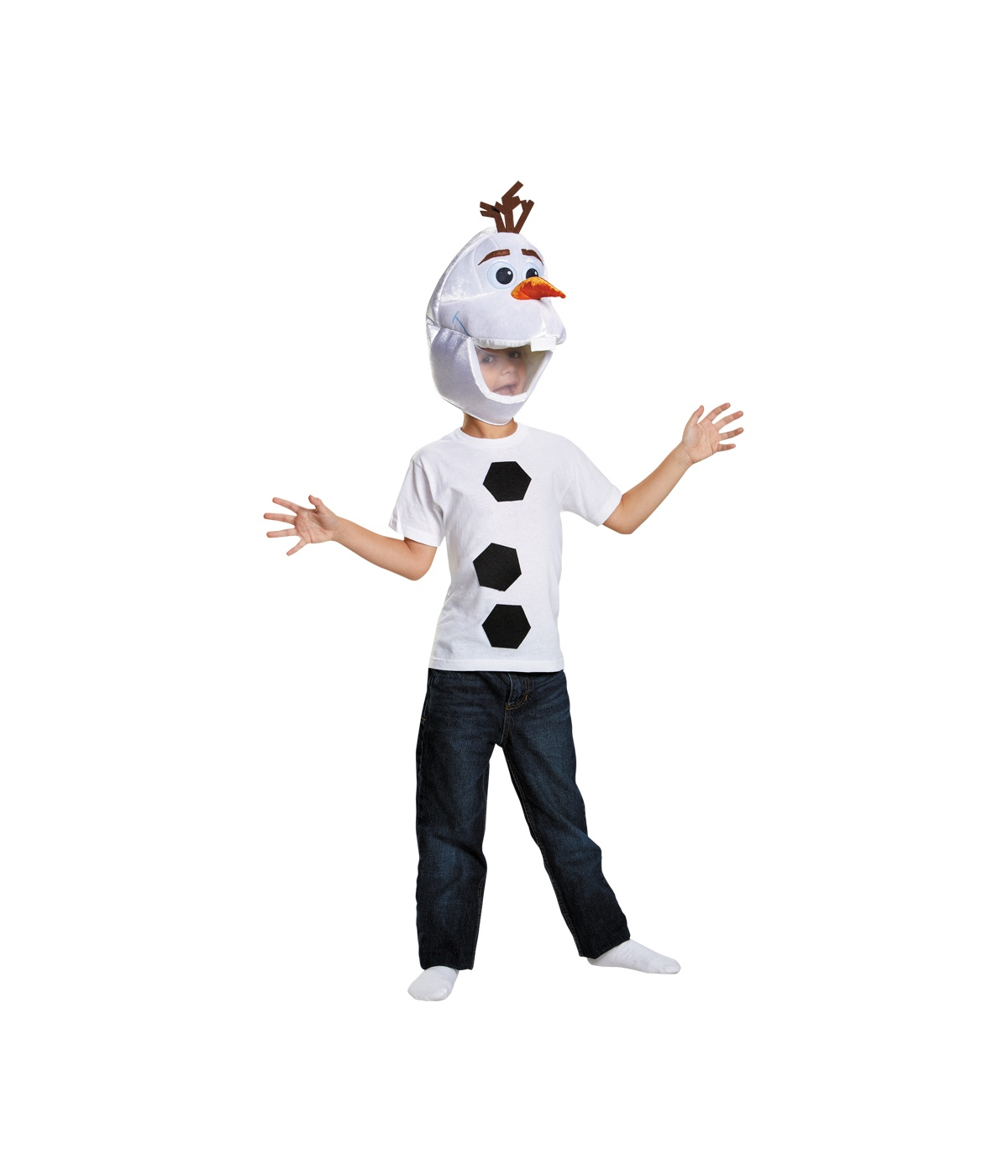 Frozen Olaf Boys Disney Costume Kit  sc 1 st  Wonder Costumes & Frozen Olaf Boys Disney Costume Kit - Disney Costumes