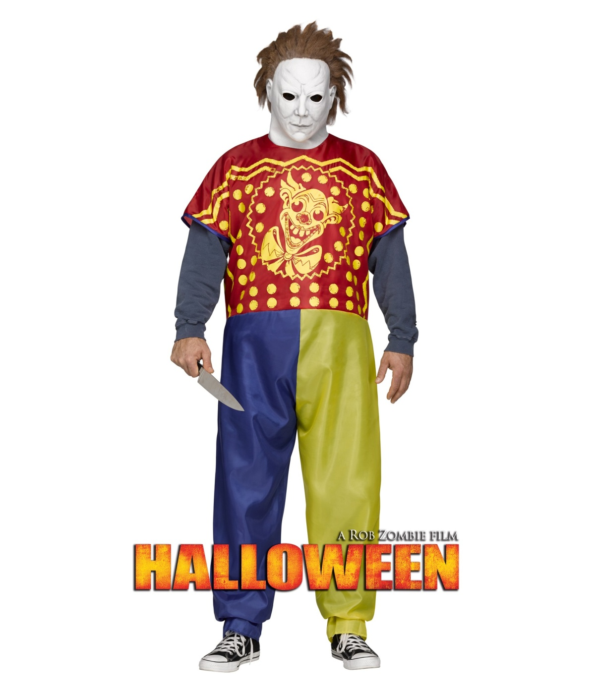 michael myers mens rob zombie halloween costume - scary costumes