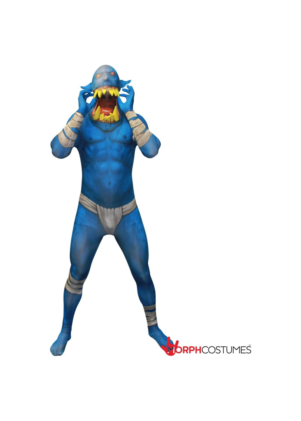Party Monster Rave Skin Suit Costume