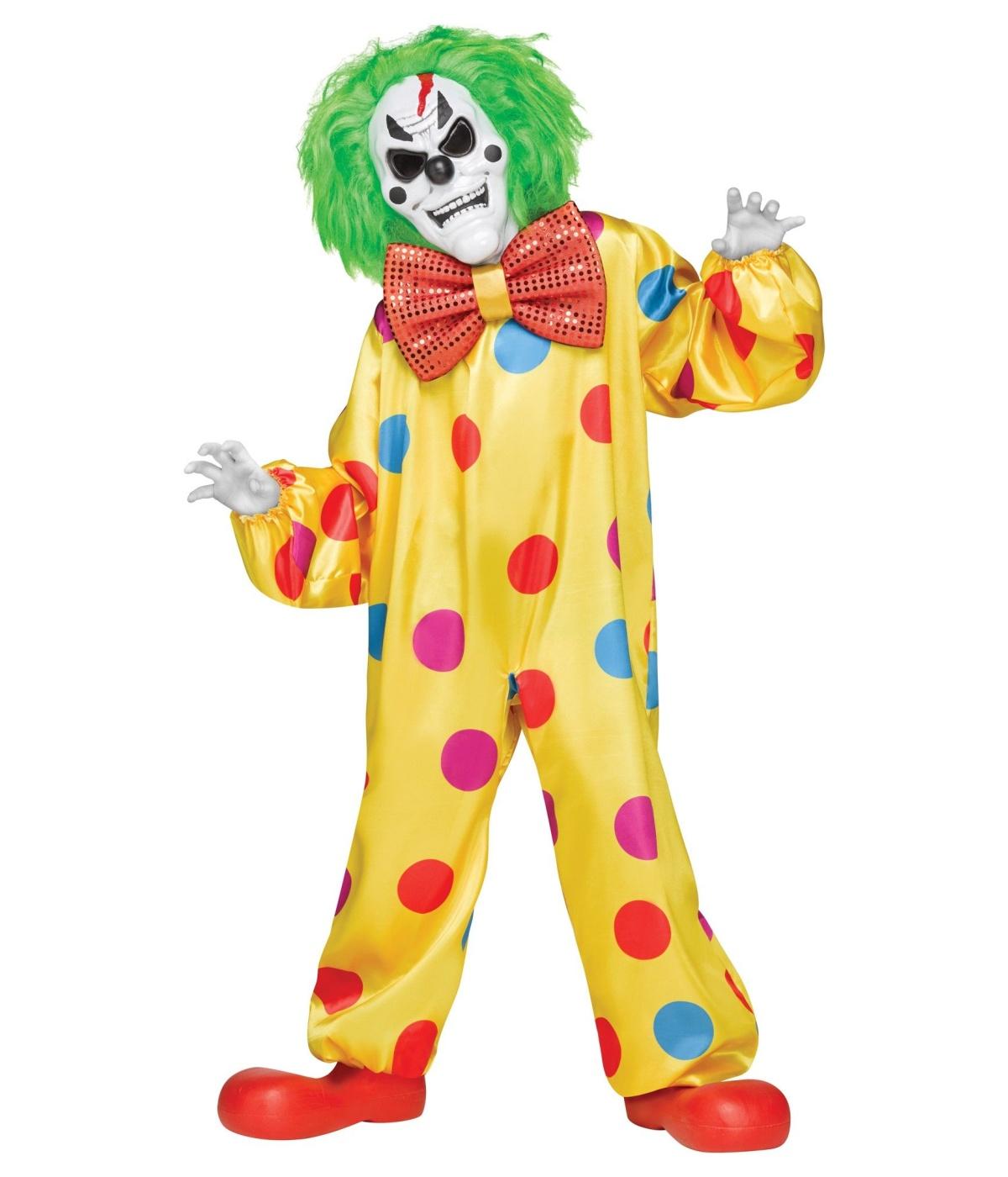 Delightful Boys Clown Costume