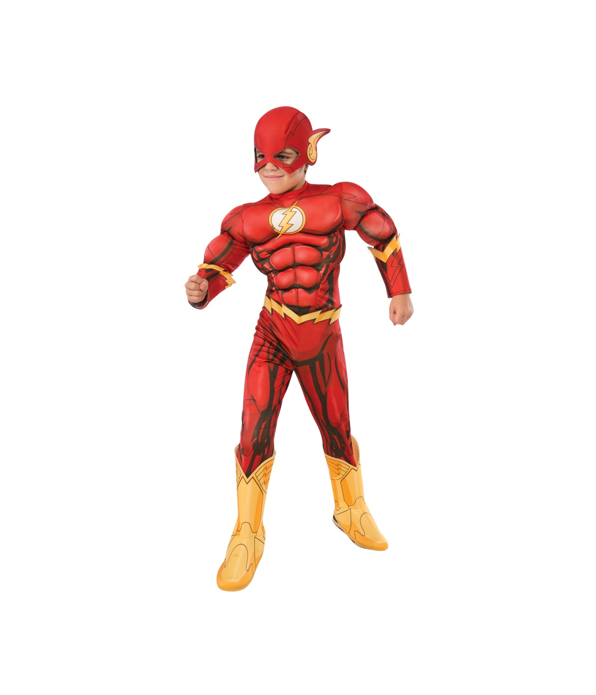 Dc Comics New 52 Flash Boys Muscle Costume Deluxe