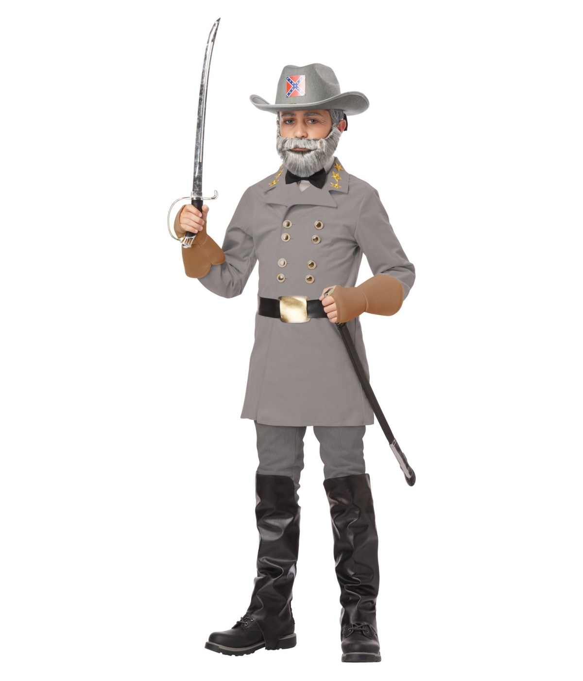 Boys General Robert Lee Costume