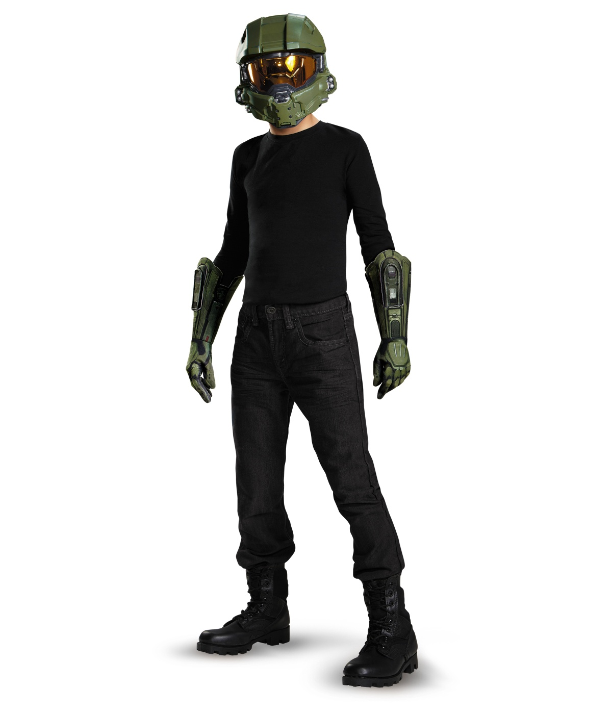 Master Chief Halo Boys Costume Kit  sc 1 st  Wonder Costumes & Master Chief Boys Costume Kit - Video Game Costumes