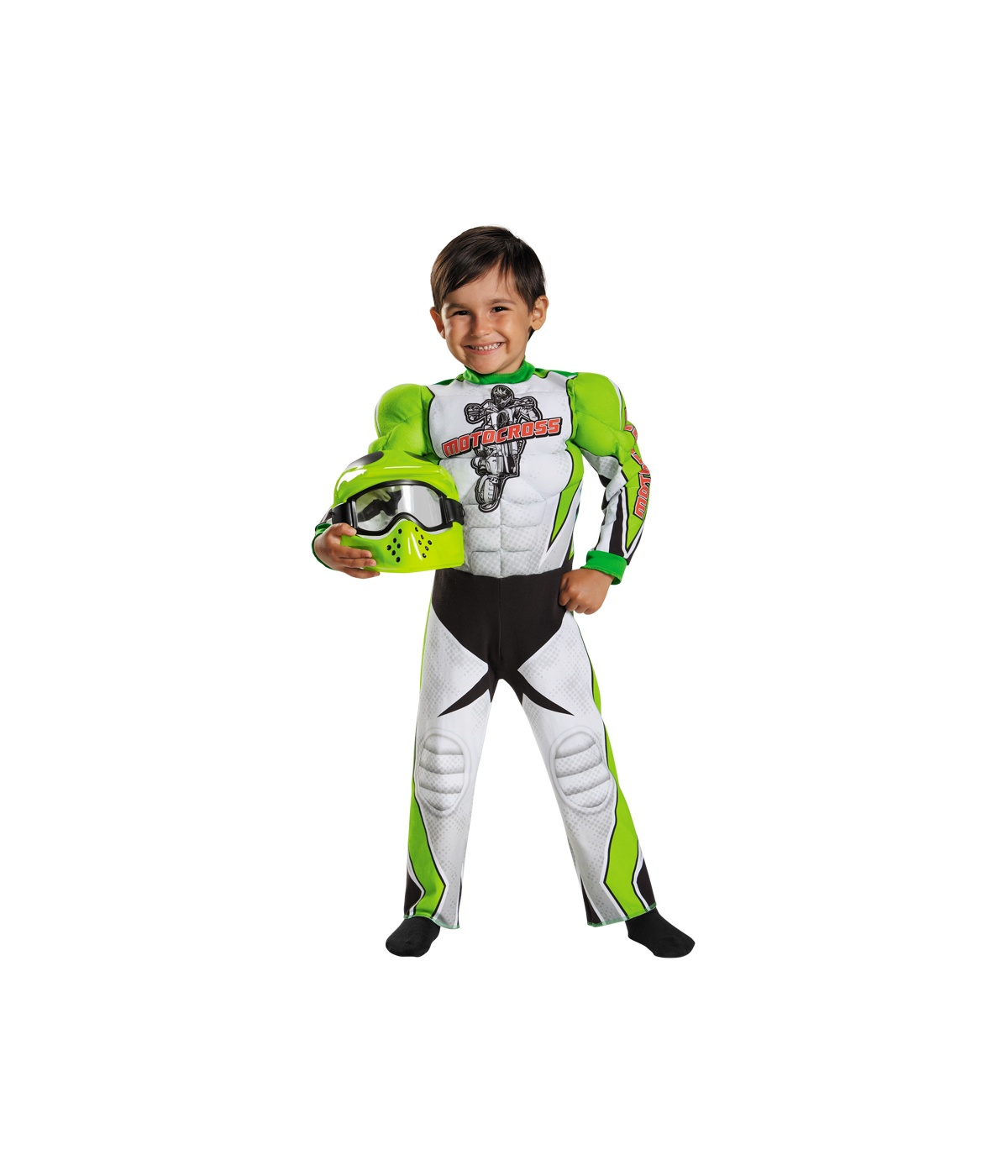 sc 1 st  Wonder Costumes & Motocross Champ Toddler Boys Muscle Costume - Sport Costumes
