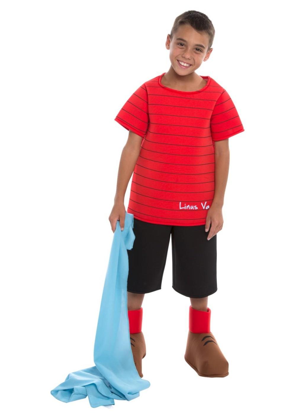 Peanuts Linus Boys Costume Show Costumes