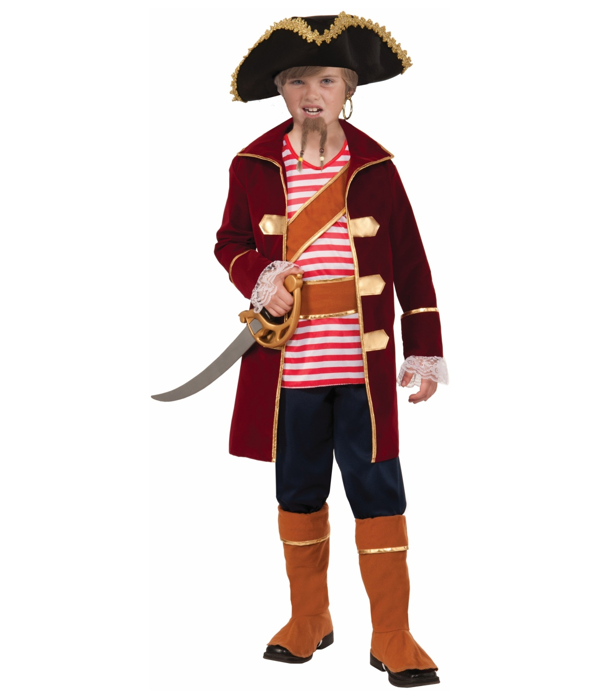 Captain Galley Scallywag Boys Pirate Costume Pirate Costumes