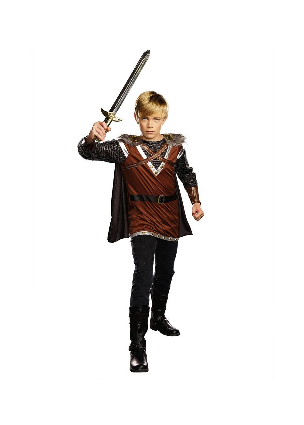 Warrior Knight Boys Costume Medieval Costumes