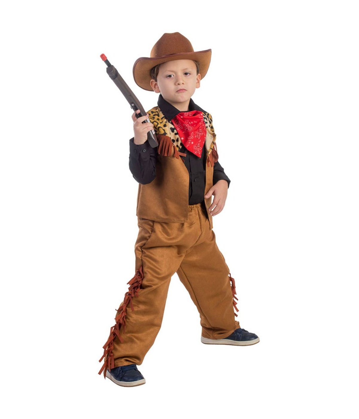 Boys Wild Western Cow Costume  sc 1 st  Wonder Costumes & Cowboy Costume - Western Outfit u0026 Halloween Costumes