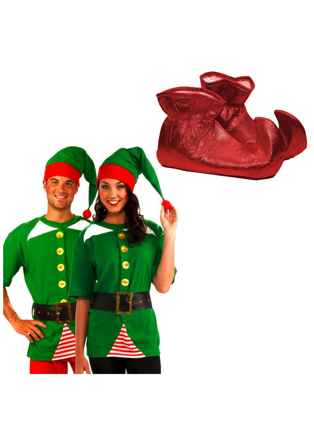 Christmas Jolly Elf Costume Kit