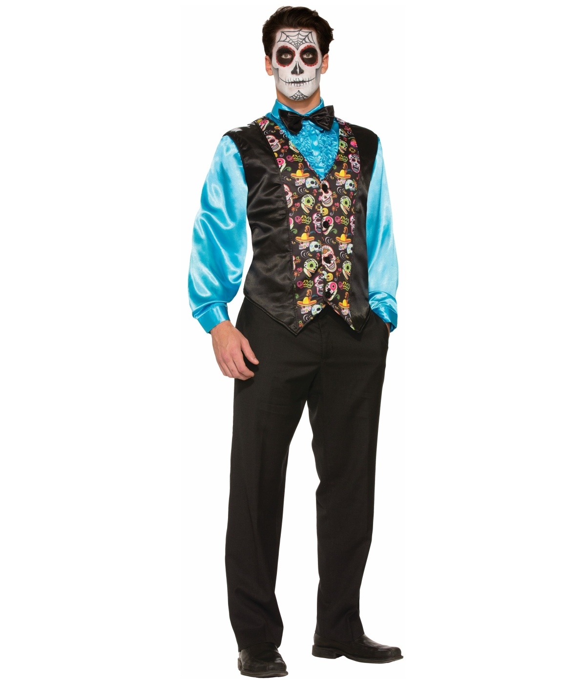 Day Of The Dead Costume Vest  sc 1 st  Wonder Costumes : vest costumes  - Germanpascual.Com