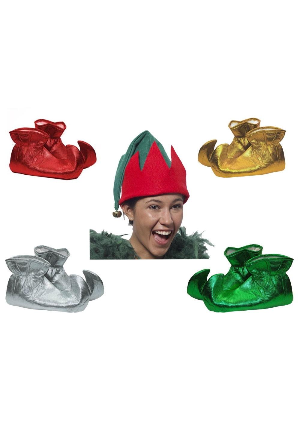 Elf Hat Elf Shoes Set