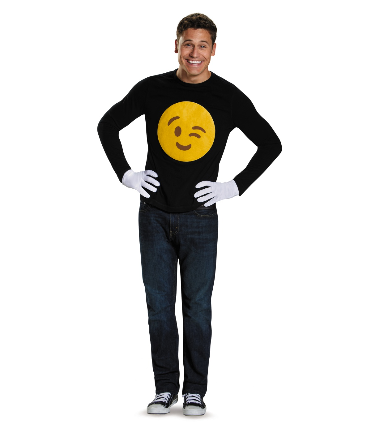 Emoticon Winkie Costume Kit