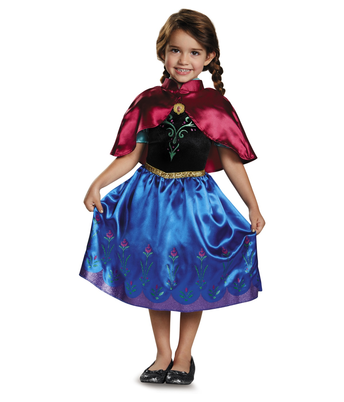 Frozen Anna Toddler Girls Disney Costume Costumes