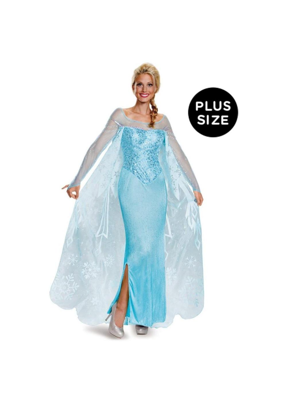Frozen Elsa Plus Size Costume