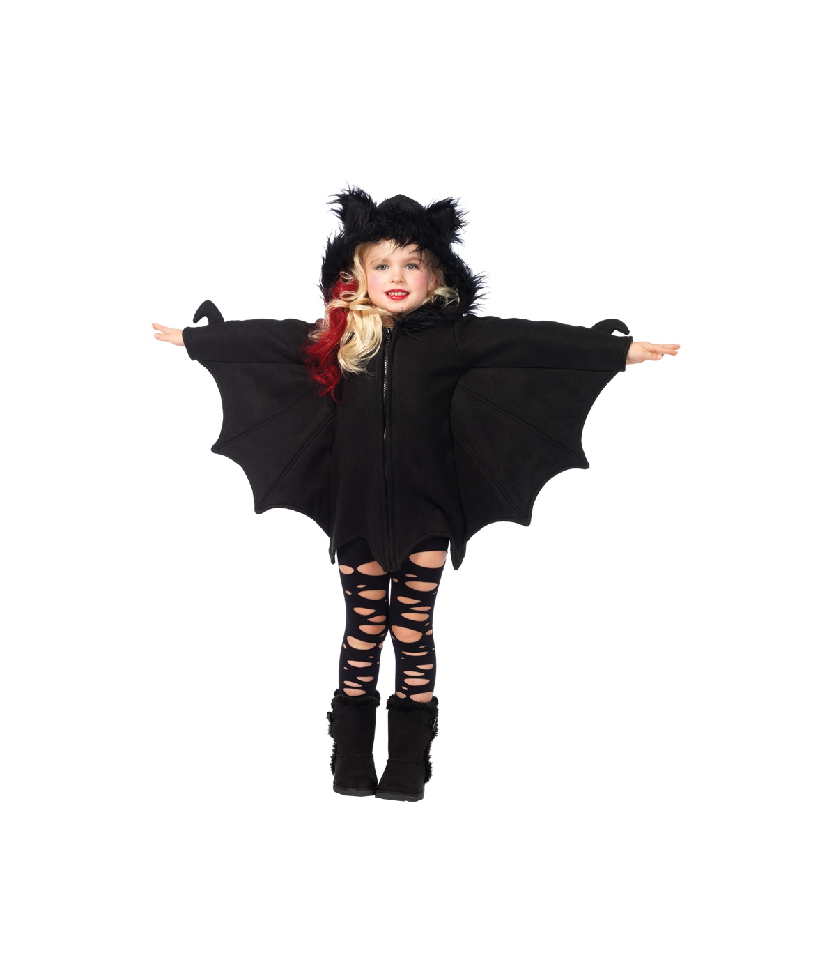 sc 1 st  Wonder Costumes & Bat Cozy Girls Costume - Scary Costumes