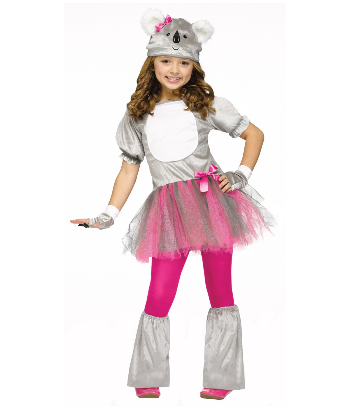 Beary Cute Girls Koala Costume - Animal Costumes