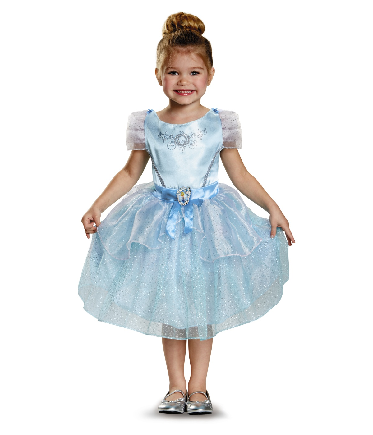 Girls Cinderella Disney Dress Costume