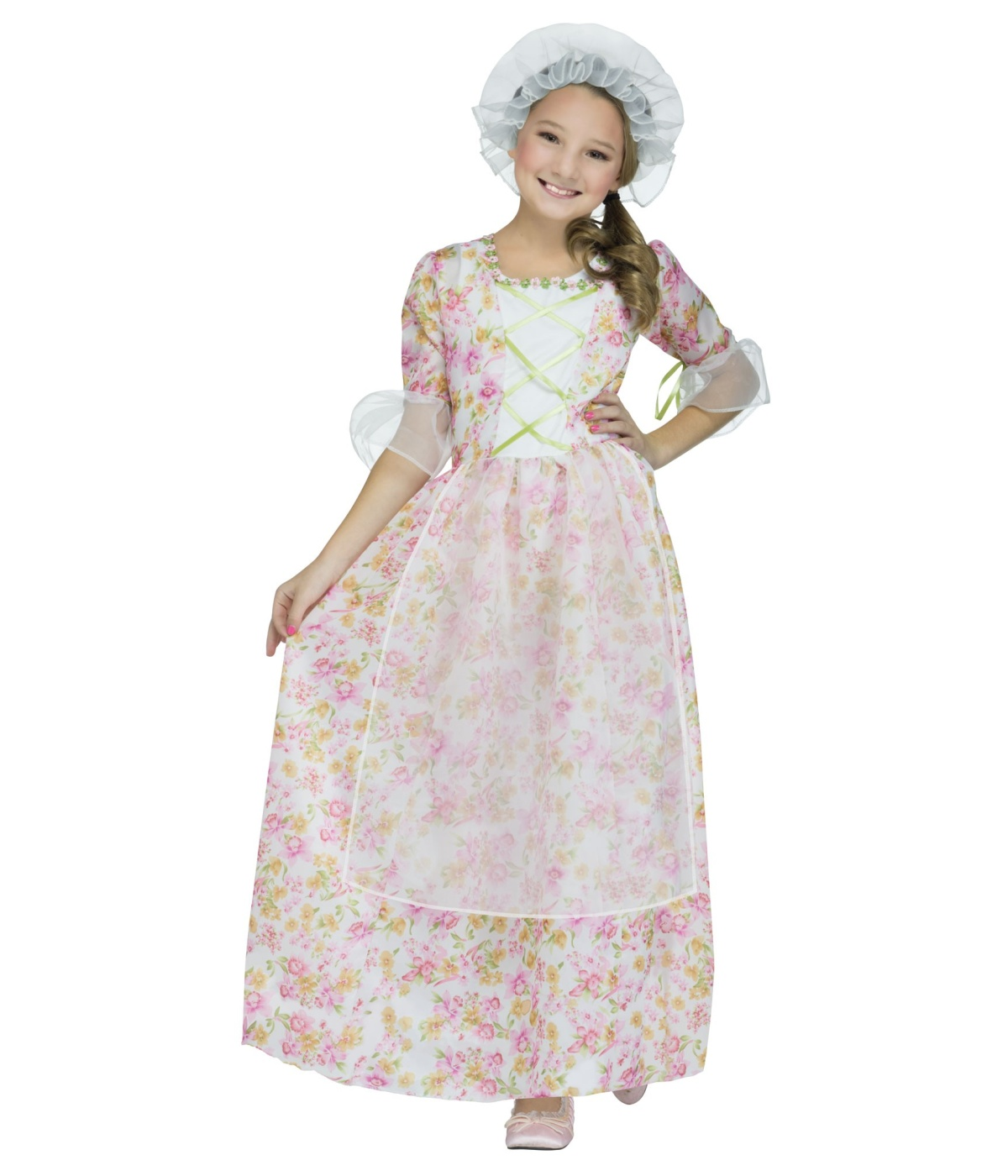 Colonial Sweetheart Girls Costume Historic Costumes
