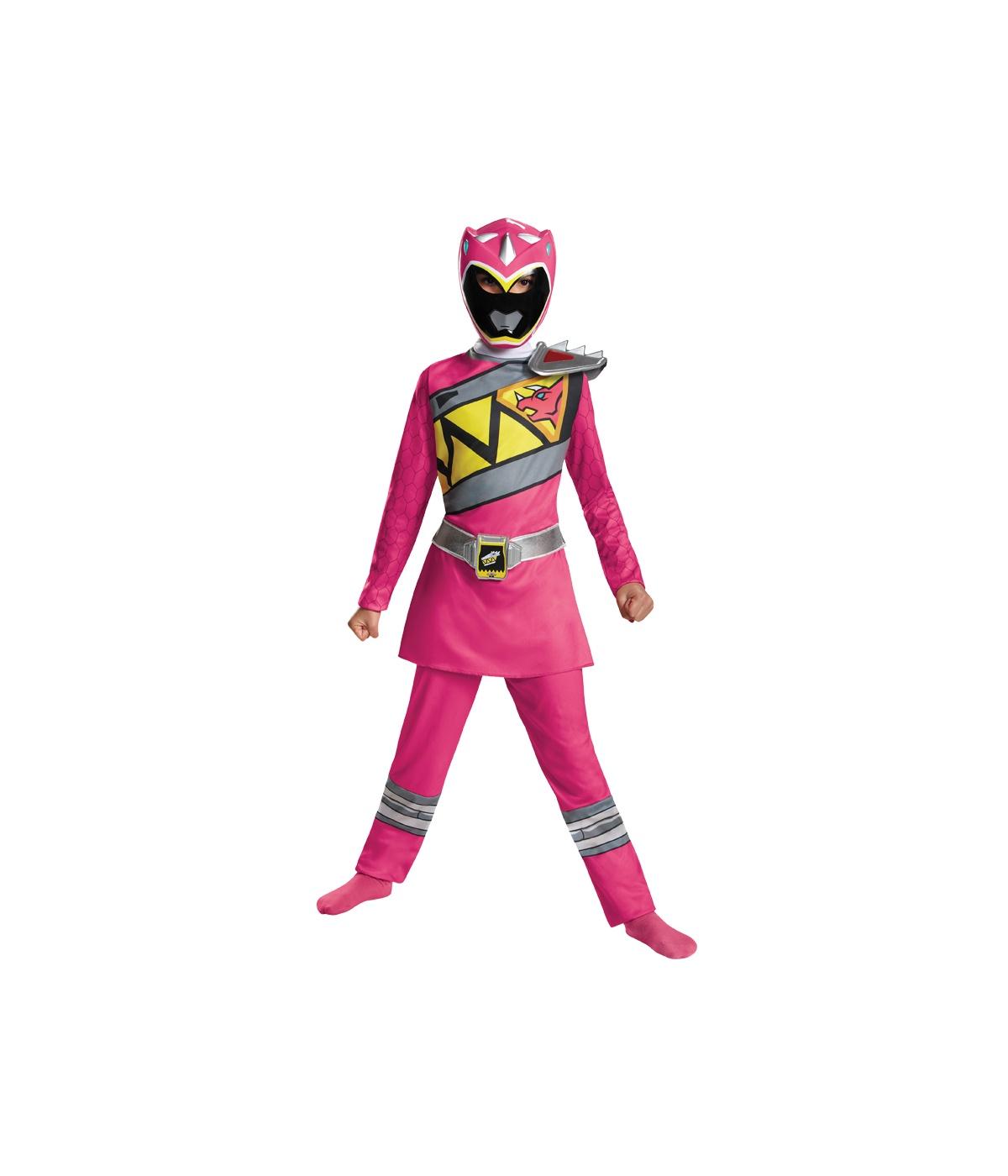 Power Rangers Dino Classic Pink Ranger Girls Costume  sc 1 st  Wonder Costumes & Girl Costumes - Girls Superhero Costumes