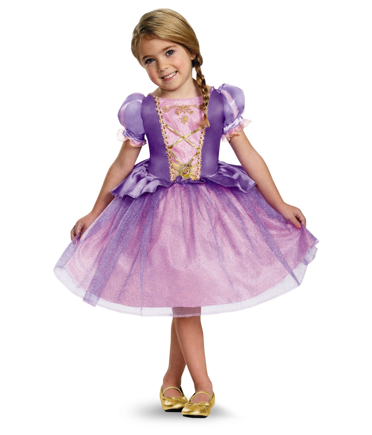 sc 1 st  Wonder Costumes & Disney Rapunzel Girls Classic Dress Costume - Princess Costumes