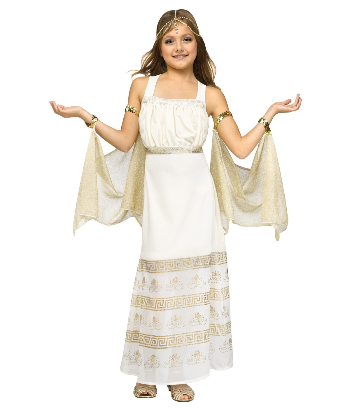 Greek Glamour Goddess Girls Costume Greek Costumes