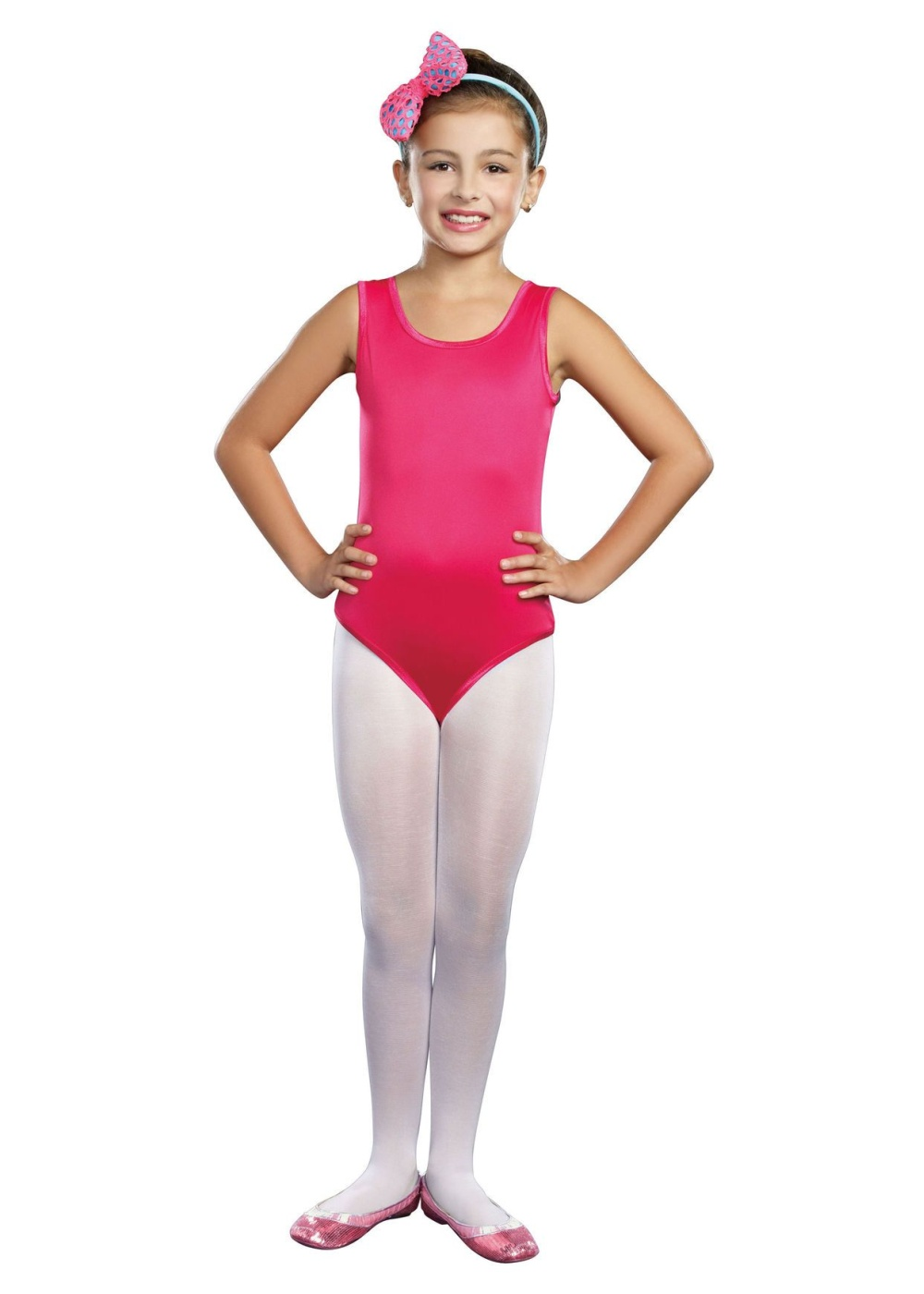 1e2bd1b03 Hot Pink Dancewear Girls Leotard - Dancewear Costumes