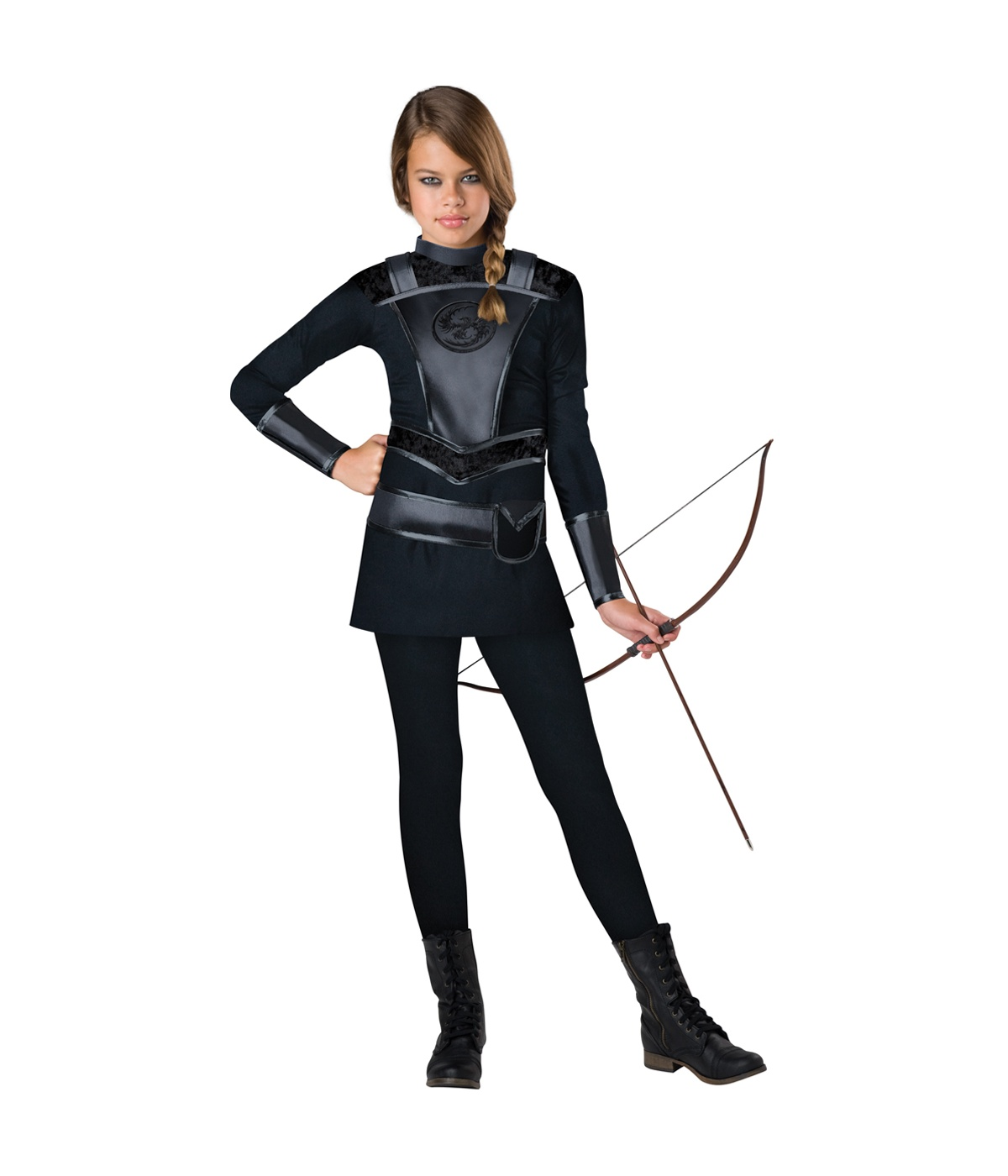 Girls Huntress Games Archer Costume