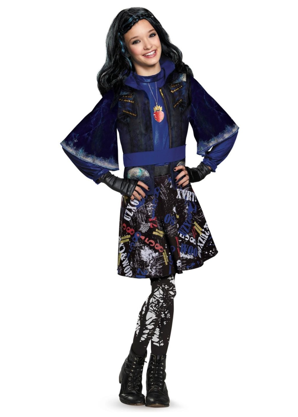 Girls Isle Descendants Disney Costume